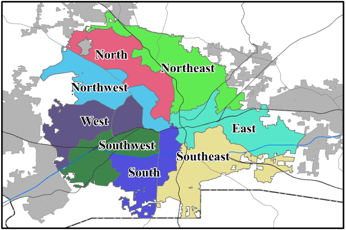 If you are a resident of Winston-Salem which Ward do you live in?